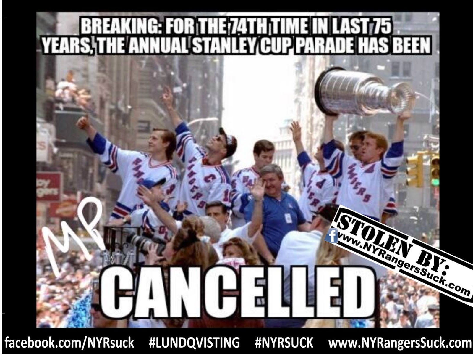 I Never Saw It Until It Was Too Late Ny Ranger Henrik Lundqvist